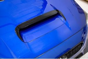 OLM Hood Vent Extension V1.1 Gloss Black - Subaru WRX / STI 2015-2021