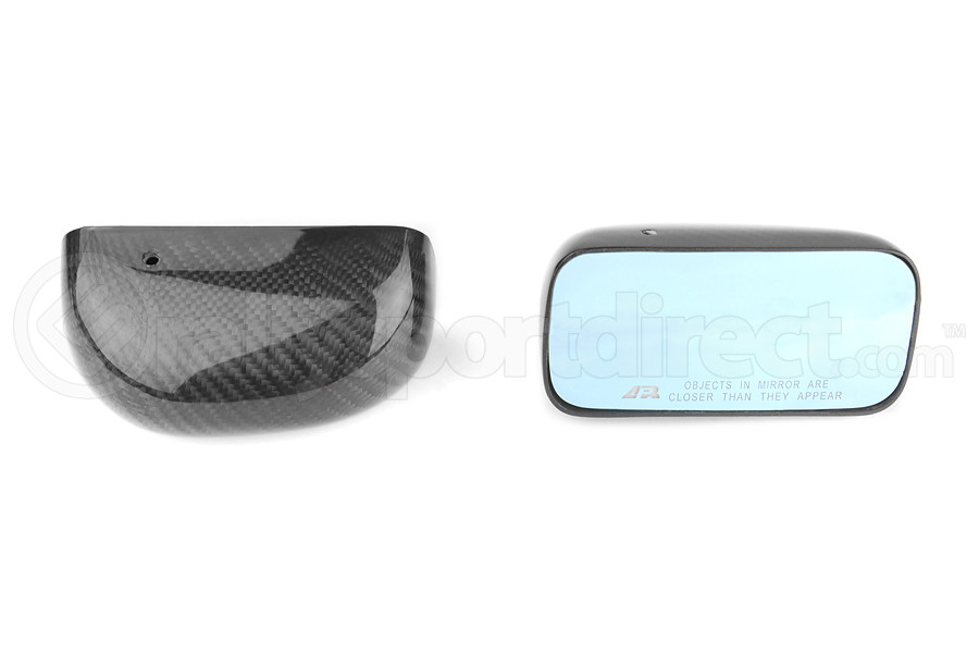 APR Carbon Fiber Mirrors Formula GT3 Black Base (Part Number:CB-508032B)