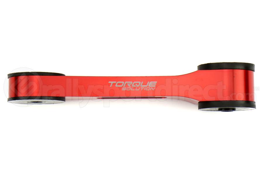 Torque Solution Pitch Stop Mount Red - Subaru Models (inc. 2002+ WRX/STI)