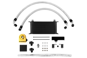 Mishimoto Thermostatic Oil Cooler Kit Black (Part Number: MMOC-WRX-06TBK)