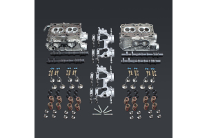 IAG Stage 5 Cylinder Head Package N Castings w/ GSC S3 Cams & New Lifter Buckets - Subaru STI 2018-2021