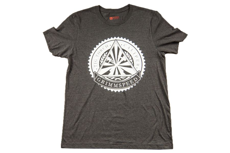 GrimmSpeed Torch and Caliper Society T-Shirt Grey - Universal