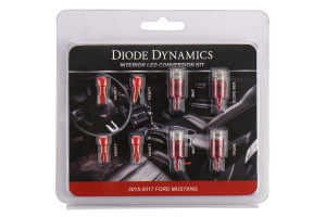 Diode Dynamics Stage 2 Red LED Interior Lighting Kit - Ford Mustang 2015+