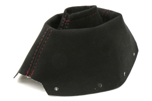 AutoStyled Black Alcantara Shift Boot w/ Red Stitching Standard Shifter ( Part Number: 1301050101)