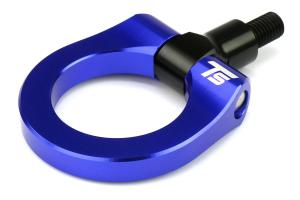 Torque Solution Front Tow Hook Blue - Subaru WRX/STI 2015+