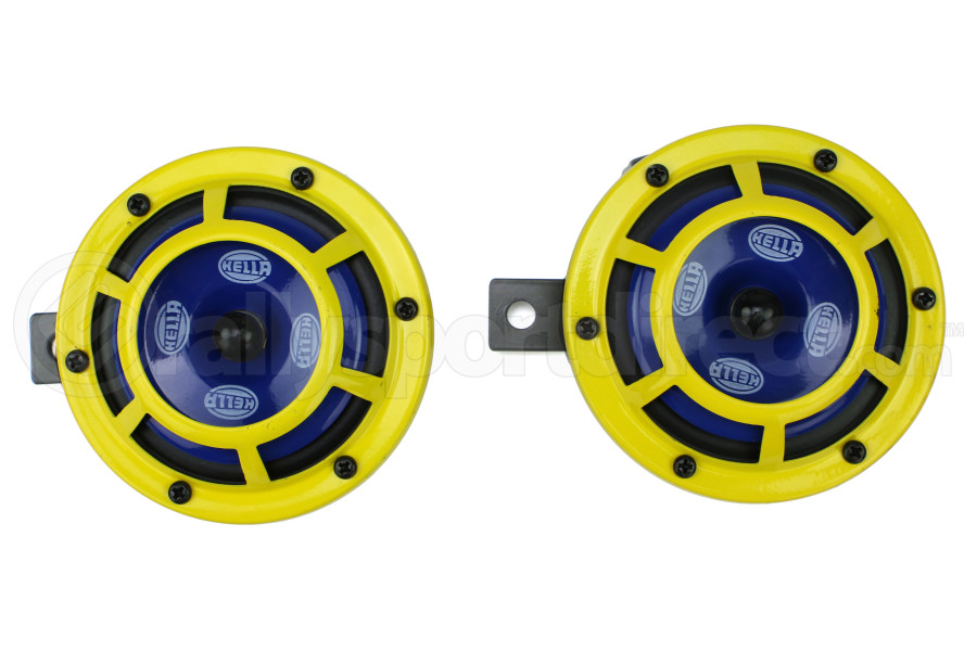 Hella Sharptone Horn Set Yellow ( Part Number:HEL 922000731)