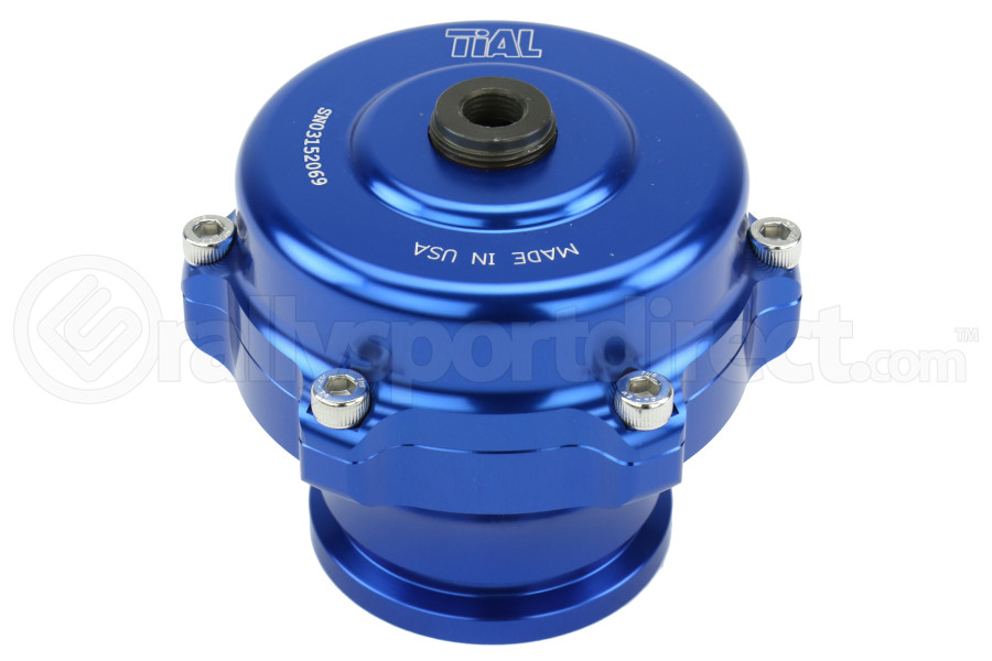 Tial QR Recirculating Blow Off Valve 10PSI Blue 1.34in Outlet (Part Number:QR.10B-1.34)