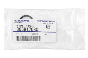 Subaru OEM Oil Pick-Up Tube O-Ring ( Part Number:SUB 806917080)