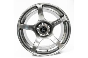 Cosmis Racing Wheels N5R Hyper Black Wheel 17x9 +15 5x114.3 - Universal