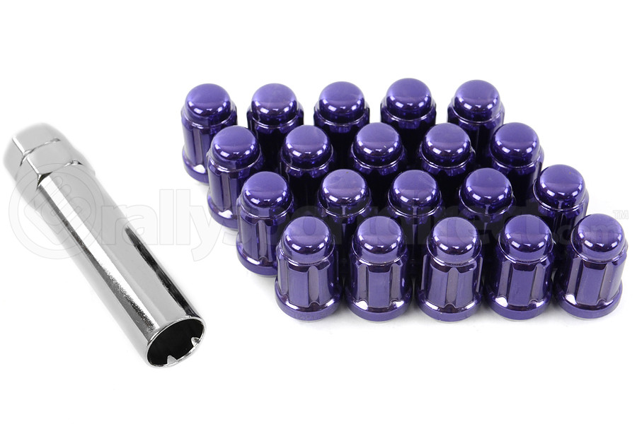 Muteki Lug Nuts 12x1.25 Closed End Purple (Part Number:41885L)