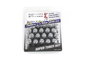 Muteki Closed End Chrome 12x1.25 Lug Nuts (Part Number: )