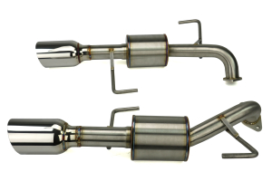 Nameless Performance Axleback Exhaust ( Part Number:NAM RSPD045)