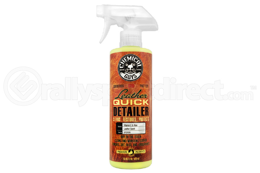 Chemical Guys Leather Quick Detailer (16oz) - Universal