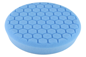 Chemical Guys Hex-Logic Self-Centered Light Cleaning Pad Blue 7.5 Inch - Universal