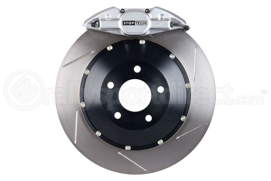 Stoptech ST-22 Big Brake Kit Rear 345mm Silver Slotted Rotors (Part Number:83.842.002G.61)
