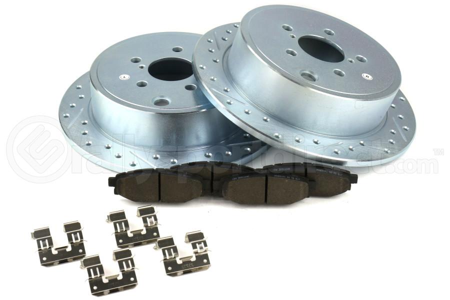 Stoptech Select Sport Brake Kit Rear - Subaru Models (inc. 2008-2014 WRX)