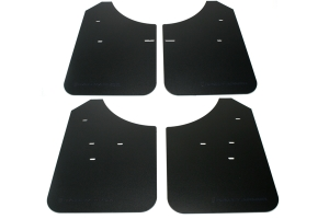 Rally Armor Classic Mud Flaps Black Logo (Part Number: MF1-BLK)
