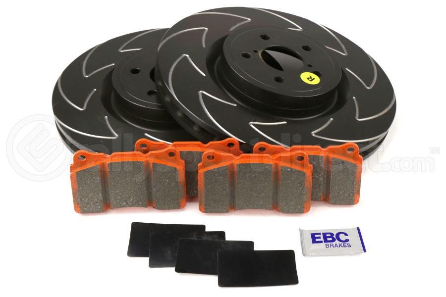 EBC Brakes S7 Front Brake Kit Orangestuff Pads and BSD Rotors - Subaru STi 2004