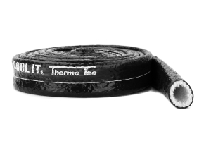 Thermo Tec Heat Sleeves 3/4in x 10ft Black ( Part Number:THE 18075-10)