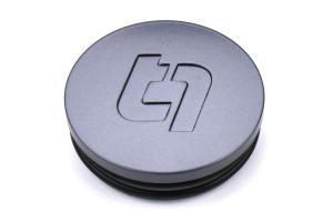 Titan 7 Flat Center Cap Satin Titanium - Universal