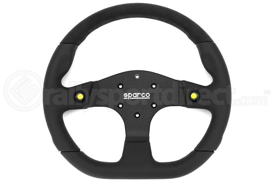 Sparco Steering Wheel L999 Black Alcantara/Leather (Part Number:015TMG22TUV)