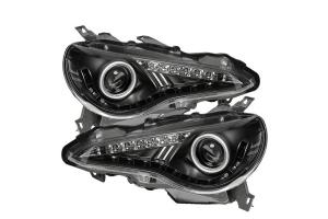 Spyder Xenon Model Projector Headlights - Scion FR-S 2013-2019 / Subaru BRZ 2013-2019
