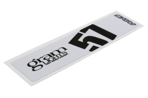 Gram Lights 57DR / 57CR Spoke Sticker White - Universal