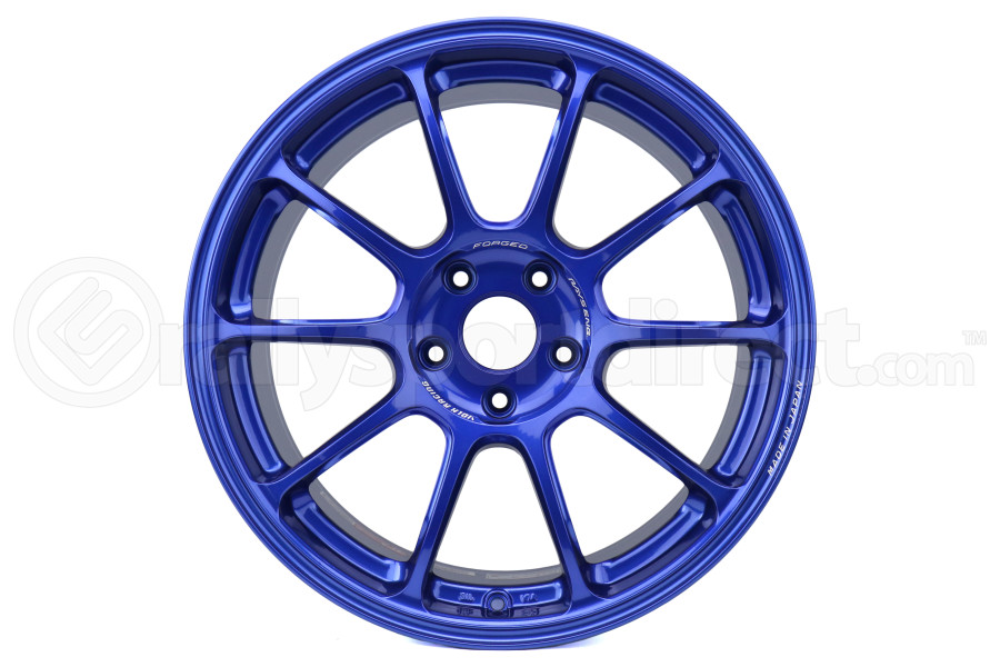 Volk ZE40 18x9.5 +38 5x114 Hyper Blue (Part Number:WKZX38EE)