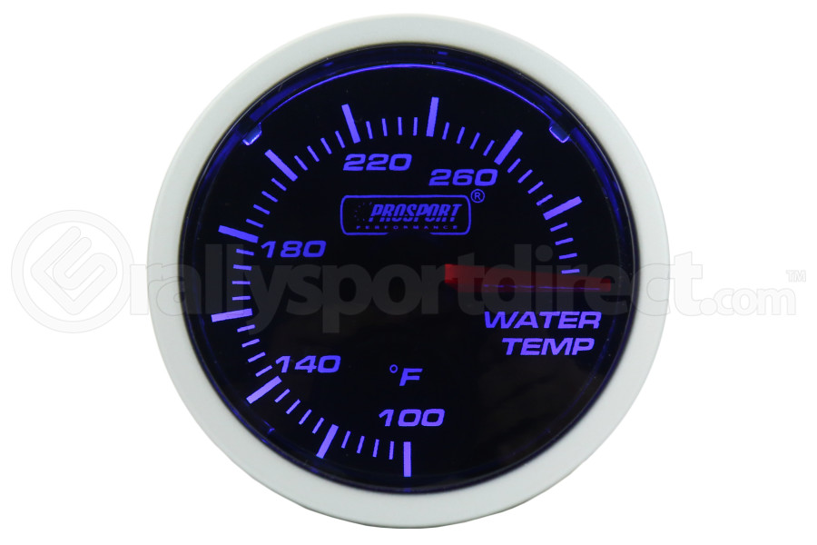 ProSport Performance Series Water Temperature Gauge (Part Number:216BFWBWTSM.F)
