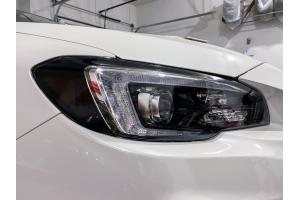 Sticker Fab Version 2 Headlight Overlays - Subaru WRX / STI 2015 - 2020