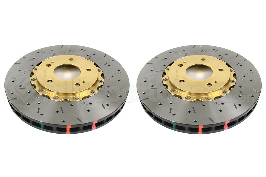 DBA 5000 Series Drilled/Slotted Rotor Pair Front (Part Number:52218GLDXSG)