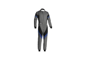 Sparco Victory Racing Suit Grey / Blue - Universal