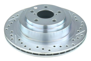 Stoptech C-Tek Sport Drilled and Slotted Rotor Single Rear Left - Subaru Models (inc. 2006-2007 WRX / 2005-2009 Legacy GT)
