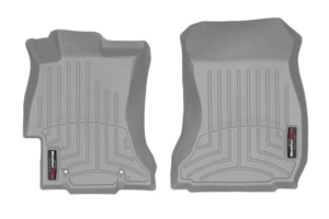 Weathertech Front FloorLiners Grey - Subaru Impreza 2012 - 2016