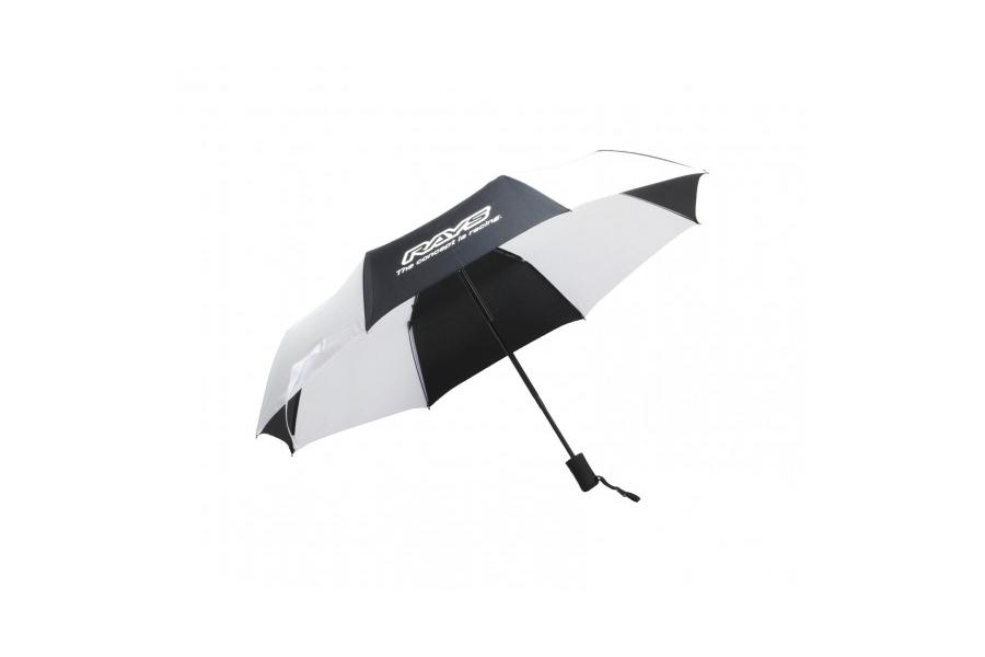 Volk Racing Rays Umbrella Black and White - Universal