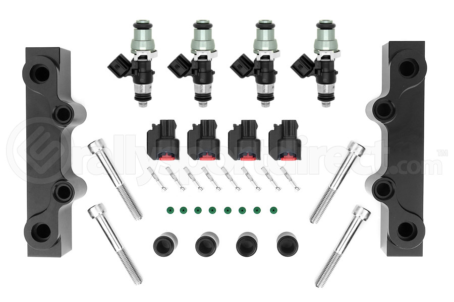 Injector Dynamics Fuel Injectors 1700cc w/ Top Feed Fuel Rails (Part Number:1700.18.01.48.14.4)
