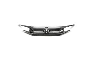 Seibon Carbon Fiber Front Grille - Honda Civic 2016+