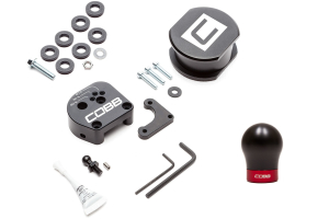 COBB Tuning Stage 1+ Drivetrain Package w/ Black Red Shift Knob - Ford Focus ST 2013+ / RS 2016+