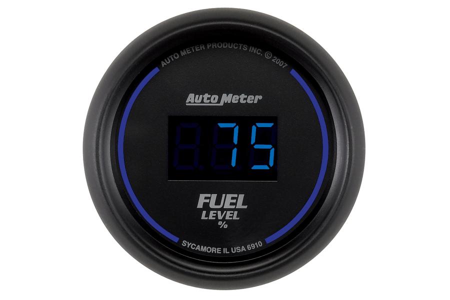 Autometer Cobalt Fuel Level Gauge Digital 52mm - Universal