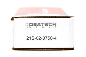 DeatschWerks Fuel Injectors Top Feed 750cc COBB Spec ( Part Number:DET 21S-02-0750-4)