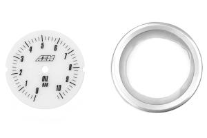 AEM Oil Pressure Gauge Analog Metric 0-10.2Bar 52mm ( Part Number:AEM 30-5135M)