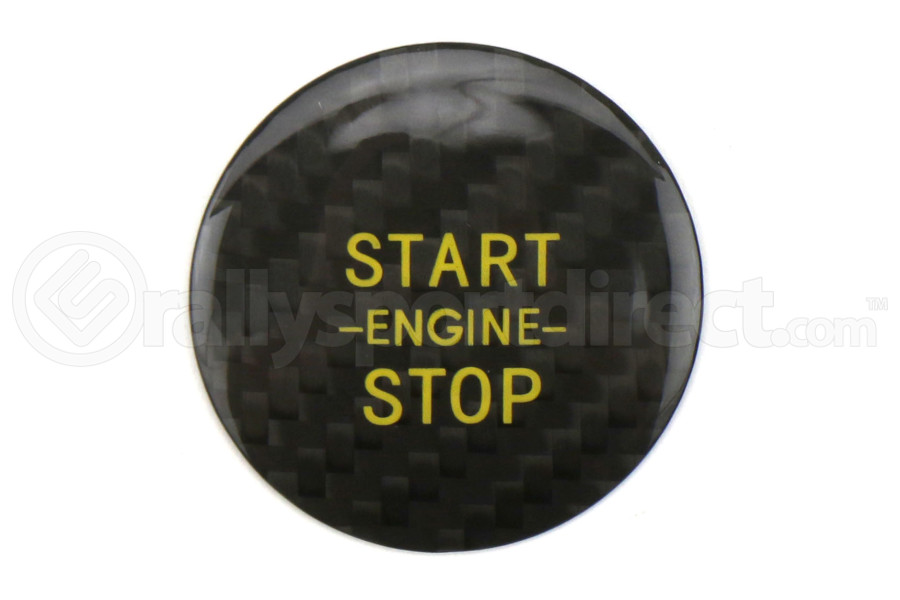 OLM LE Carbon Fiber Push to Start Cover Black - Scion FR-S 2013-2016 / Subaru BRZ 2013+ / Toyota 86 2017+