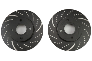 EBC Brakes 3GD Series Sport Dimpled/Slotted Front Brake Rotors - Ford Fiesta 2011+