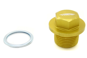 KICS Magnetic Oil Drain Plug Bolt M20 x 1.5 Yellow (Part Number: )