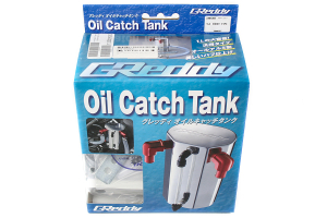 Greddy Universal 600cc Lightweight 9mm Oil Catch Can  (Part Number: )