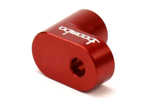 Boomba Racing Wing Riser Kit Red - Ford Focus ST 2013+