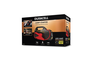Duracell 600 Peak Amp Portable Emergency Jumpstarter - Universal