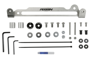 PERRIN Engine Cover Kit Red (Part Number: )