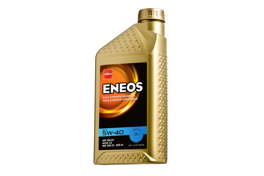 ENEOS 5W40 Full Synthetic Engine Oil 1qt - Universal
