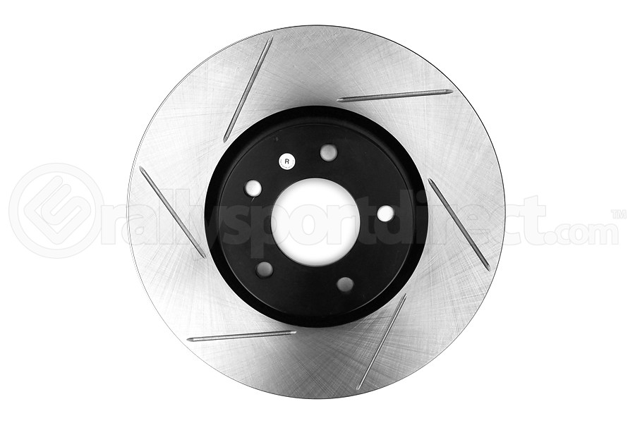Stoptech Slotted Front Right Rotor Single - Mazdaspeed3 2007-2013